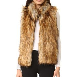 BB DAKOTA Revolve Colton Faux Fur Vest
